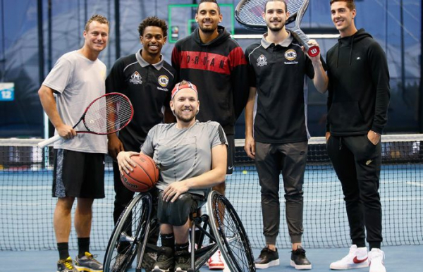 Grand Slam Dunk a first for tennis and basketball