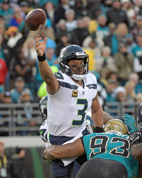 Jaguars beat Seahawks 30-24, take outright lead in AFC South