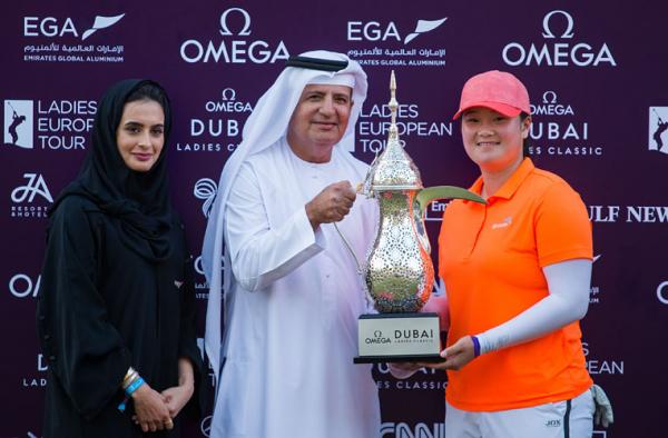 American Yin wins Omega Dubai Ladies Classic in riveting finish