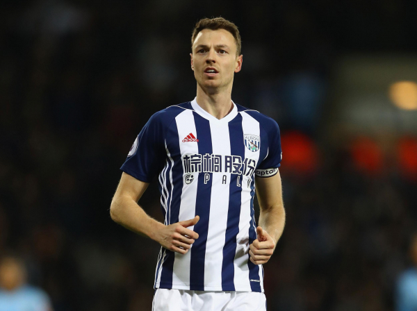 Manchester City keen on Jonny Evans transfer as Alan Pardew admits he fears West Brom could sell defender