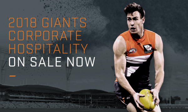 2018 Corporate Hospitality On-Sale Now