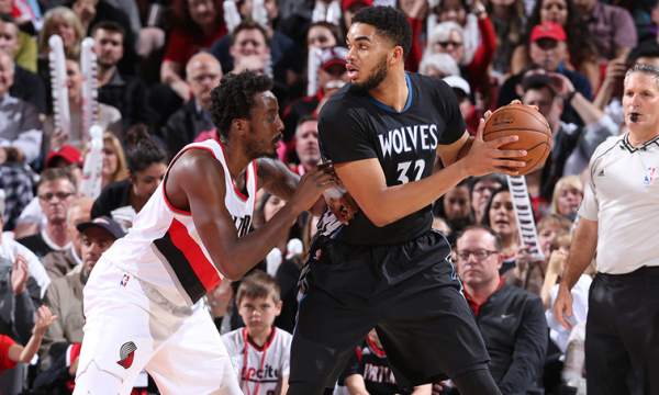 Trail Blazers Finish Trip With First Game This Season Versus Timberwolves