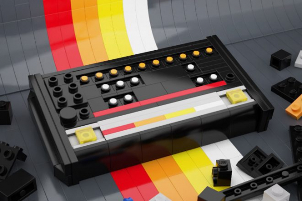 ​Techno heads get crafty building LEGO replicas of the 808, 303 and turntables