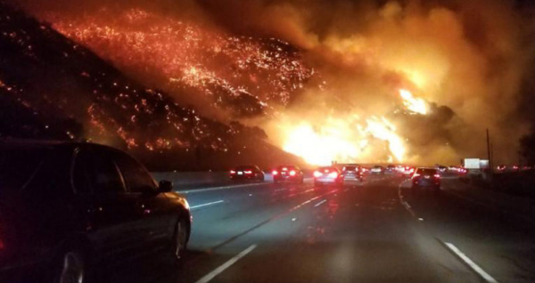 The most insane photos from LA's apocalyptic wildfires