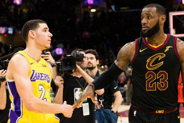 What LeBron James Told Lonzo Ball In Purportedly Secret Conversation After Lakers Lost To Cavaliers