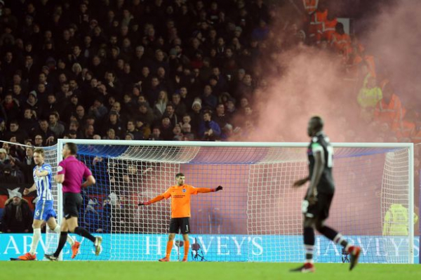 Sussex Police apologise for claiming weapons were found at Brighton vs Crystal Palace derby clash