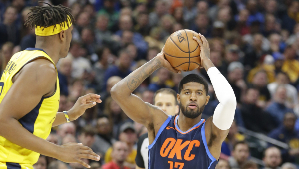 Thunder pick up Paul George in his return to Indiana