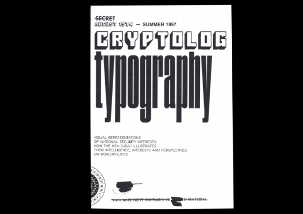 IAMGOD's mission to redefine typography includes publishing the NSA's documentation