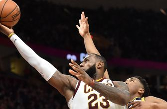 LeBron James records 60th career triple-double as Cavs defeat Jazz, 109-100