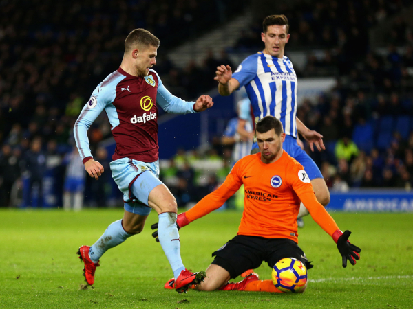 Brighton and Burnley see out goalless stalemate on the south coast