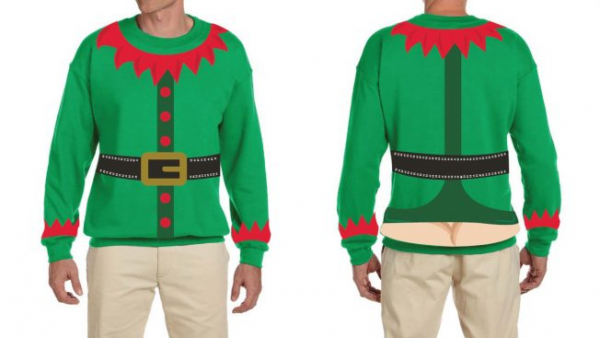 Liquid-Plumr's Ridiculous Holiday Sweaters Give You Festive Butt Crack