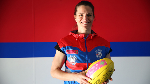 AFLW: Former cycling champ's journey to Dogs