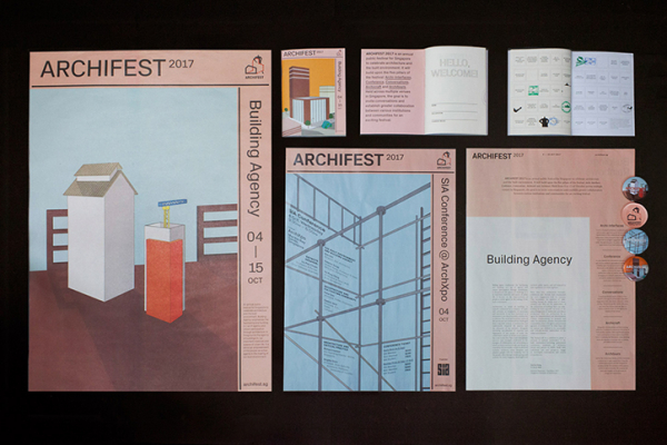 Do Not Design uses illustration to create approachable branding for Singapore's Archifest
