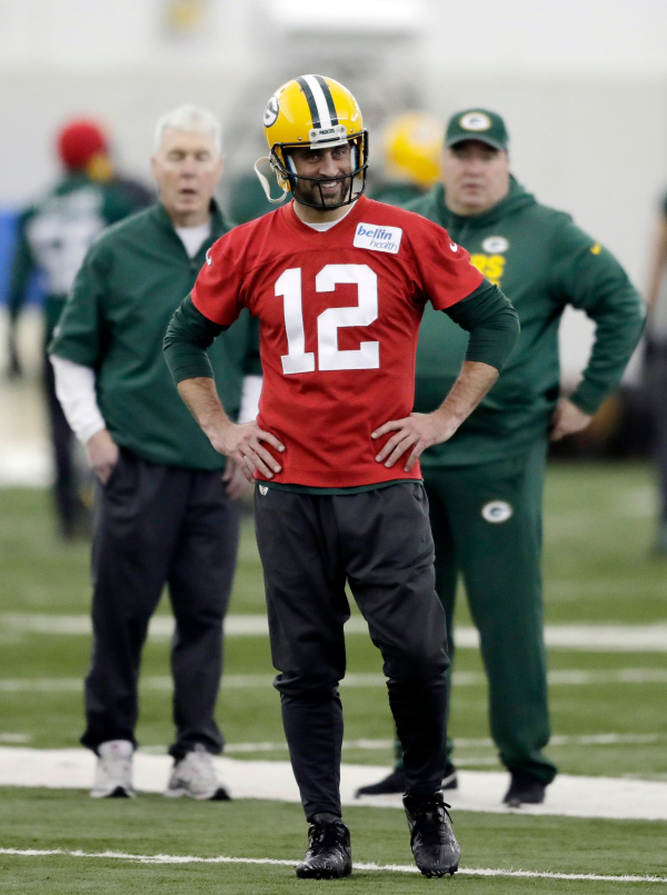 Packers Aaron Rodgers confident hell return in top form