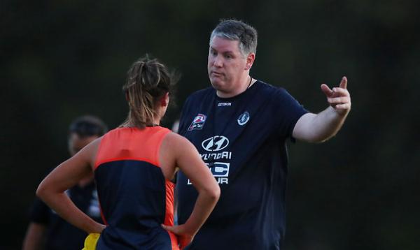 Body language kickstarts 'the AFLW Blues way'
