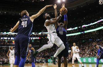 Irving, Celtics earn 97-90 comeback win over Mavericks