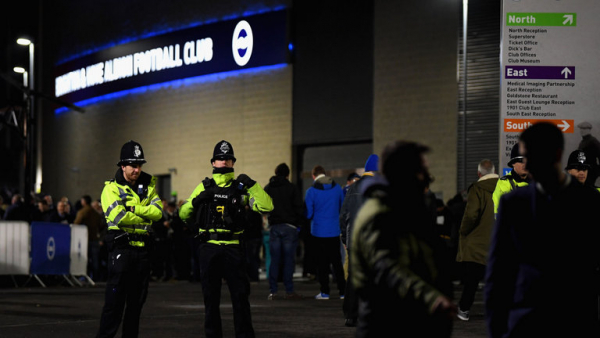 Police apologise to Brighton and Palace