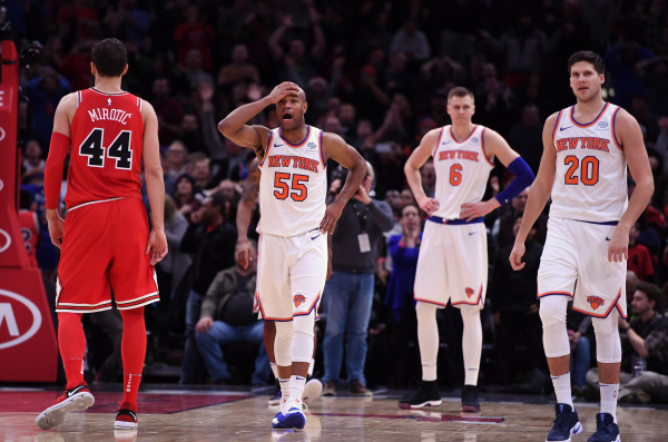 Knicks may be in for a lot of losses during upcoming road stretch