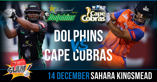 RAM SLAM T20 – 2nd SEMI-FINAL – DOLPHINS VS CAPE COBRAS – FANTASY PREVIEW