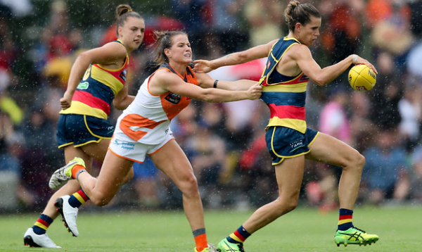 AFLW: Last-touch rule in 2018