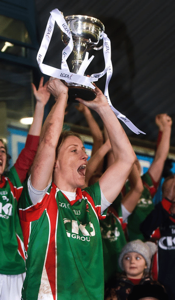 Staunton Celebrates Sixth All-Ireland Title