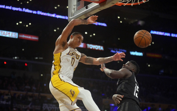 Lakers News: Luke Walton 'Loves' Kyle Kuzma's Competitiveness