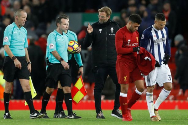 Jurgen Klopp bemoans Liverpool's luck as ANOTHER controversial call goes against Reds in West Brom draw