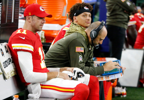 Chiefs Reid considers keeping Nagy on top of play-calling