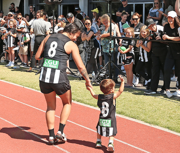 Open training: AFL and AFLW