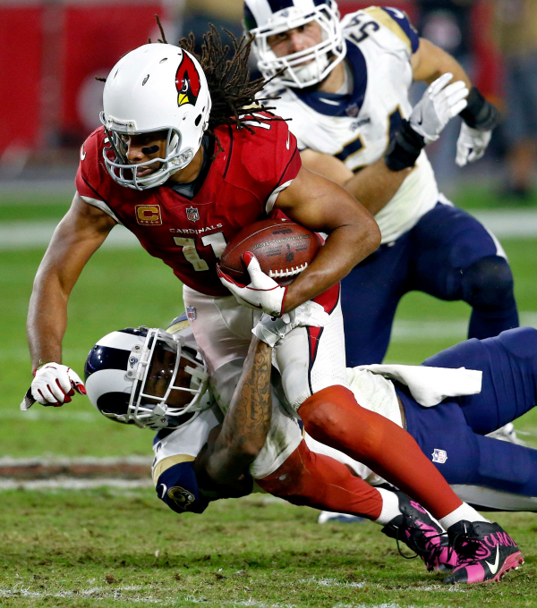Arians wants consistency from WRs not named Fitzgerald