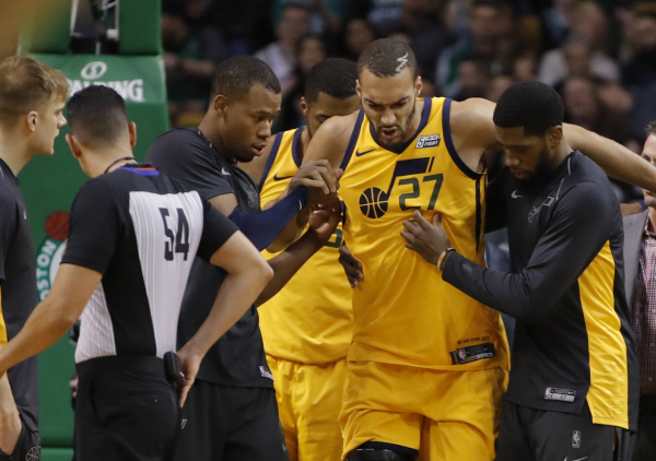 Rudy Gobert expected to miss next month, which is poor timing for Jazz