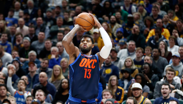 Three Things to Know: Paul George returns to Indiana, gets bailed out by OKC defense