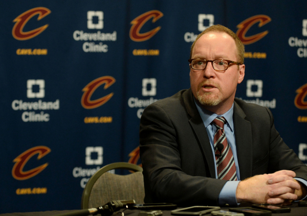 David Griffin on how he became a GM, his time with the Cavaliers, Kyrie Irving's trade request, LeBron James' return and future