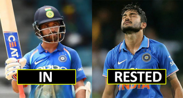 India's Predicted XI For The Second ODI