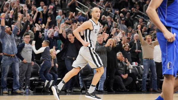 Manu Ginobili game-winner caps 13-0 closing run to rally Spurs past Mavericks
