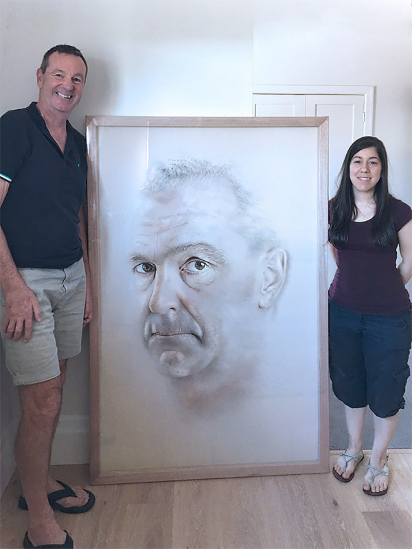 Daniher portrait: 'There's real strength there'