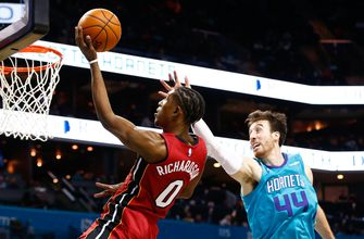 Heat hold off Hornets late rally to win