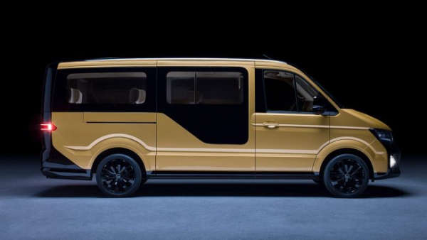 This Cutting-Edge Volkswagen Bus Might Be the Ride of the Future