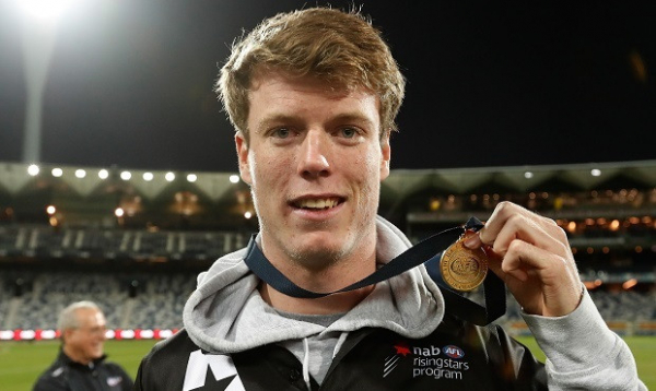 Blakey trains with Swans