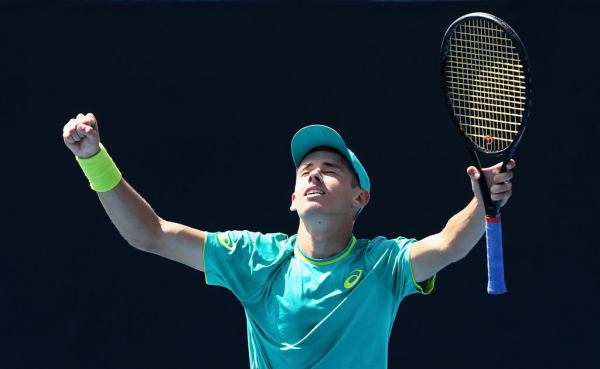 Rising star Alex De Minaur secures Australian Open berth