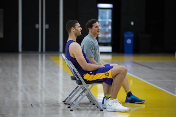 Lakers News: Ivica Zubac Among Young Players Learning From Brook Lopez