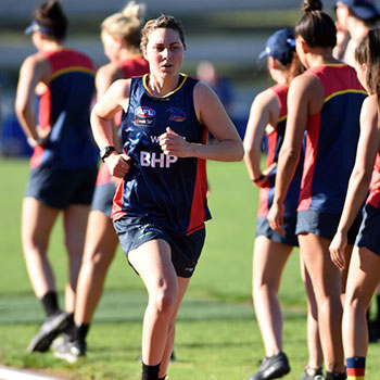 AFLW: Army electrician to make sparks fly