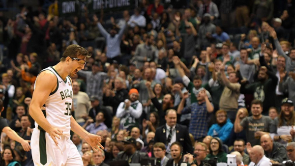 Bucks' Mirza Teletovic out with blockages in lungs