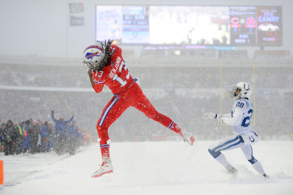 Bills pull out incredible 13-7 overtime victory over Colts in snow game