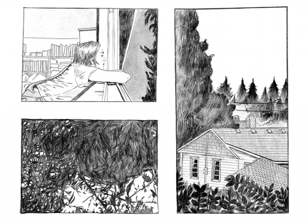 Anne Pomel's tender illustrations document her move from Paris to Portland