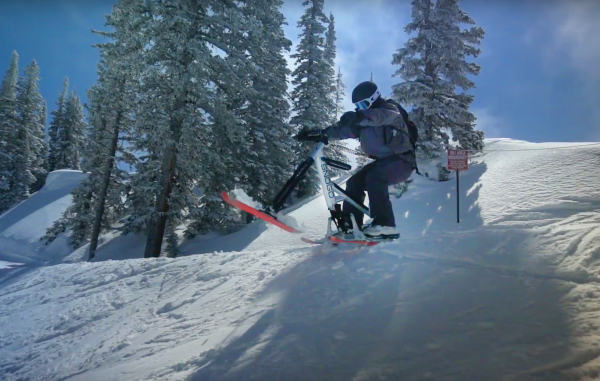 The 5-year bootstrapped odyssey of Sno-Go, a snow bike for the everyday ski mountain visitor