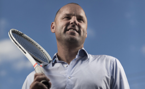 Once a promising tennis star, Paul Kilderry reckons he's exactly where he should be