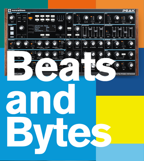 Novation's Next Beats and Bytes Livestream will Feature the Peak Synthesizer