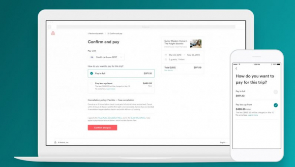 Airbnb now lets you stagger the cost of your rental