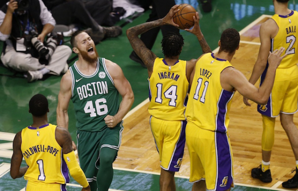 After Being Pushed Around By Aron Baynes, Luke Walton Stresses Importance Of Lakers Taking Physicality To Celtics In Rematch